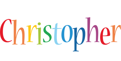 Christopher Logo | Name Logo Generator - Birthday, Love ...