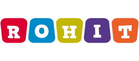 Rohit Logo Name Logo Generator - Kiddo, I Love, colors Style