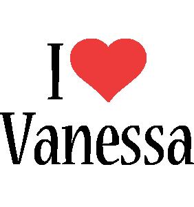 Vanessa Logo | Name Logo Generator - I Love, Love Heart ...