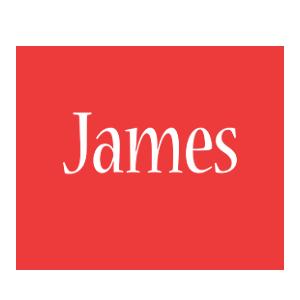 James logo create custom james logo love style for Name style design