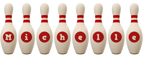 michelle logo create custom michelle logo bowling pin