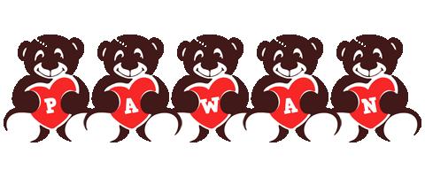 pawan logo create custom pawan logo bear style