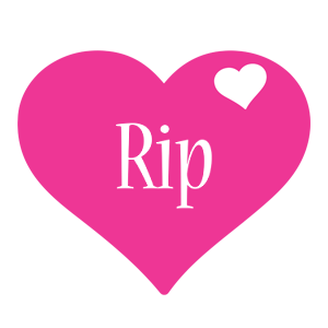 Rip logo create custom rip logo love heart style for Name style design