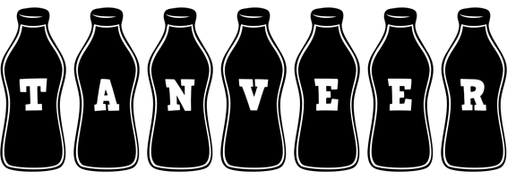 Tanveer logo create custom tanveer logo bottle style for Name style design