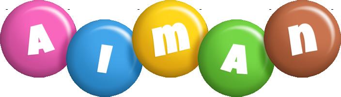 Aiman candy logo