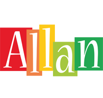 Allan colors logo