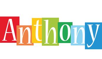 Anthony Logo | Name Logo Generator - Kiddo, I Love, Colors Style