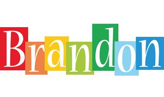 Brandon Logo Name Logo Generator Kiddo I Love Colors