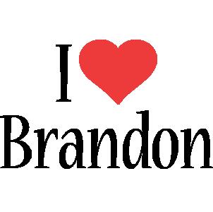 Brandon Logo | Name Logo Generator - Kiddo, I Love, Colors Style