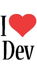 Dev i-love logo
