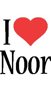 Noor Logo Name Logo Generator Kiddo I Love Colors Style