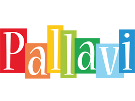 Pallavi colors logo