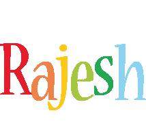Rajesh birthday logo