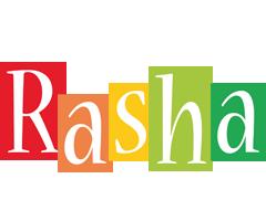 Rasha colors logo