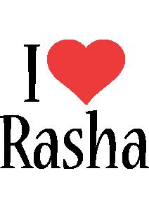 Rasha i-love logo