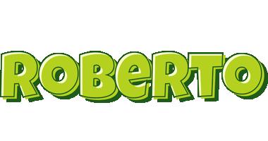Roberto Logo | Name Logo Generator - Smoothie, Summer, Candy Style