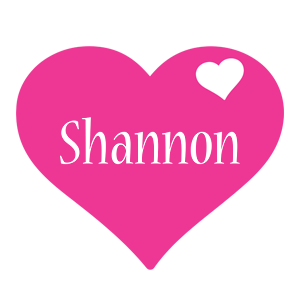 Shannon Logo | Name Logo Generator - Birthday, Love Heart, Friday ...: www.textgiraffe.com/Shannon/Page2