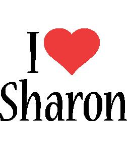Sharon i-love logo