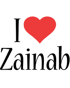 Zainab Logo | Name Logo Generator - Kiddo, I Love, Colors ...